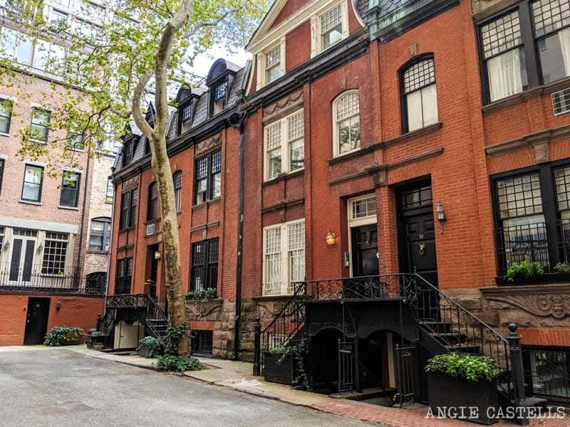 Henderson Place, en el Upper East Side, una calle bonita en Nueva York