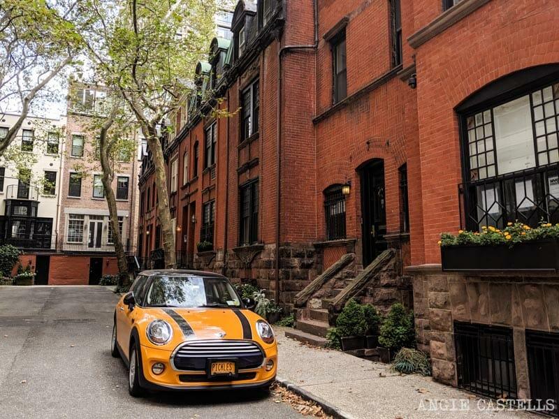 Henderson Place, en el Upper East Side, una de las calles de Nueva York