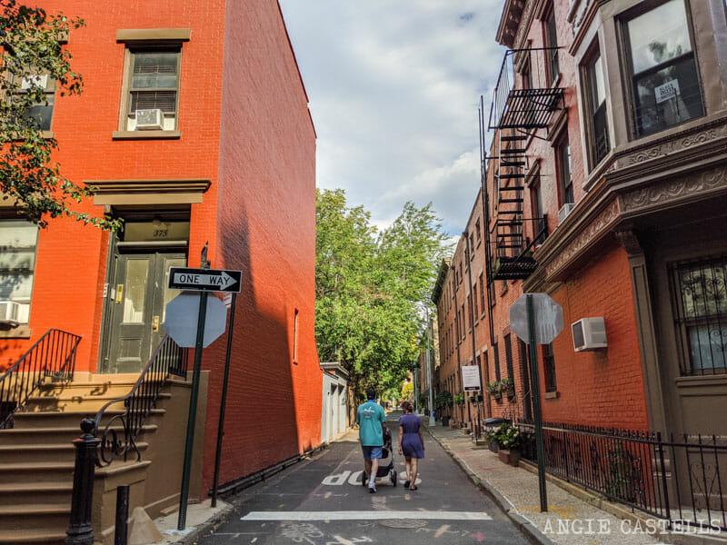 Verandah Place, en Cobble Hill, una de las calles mas bonitas de Nueva York