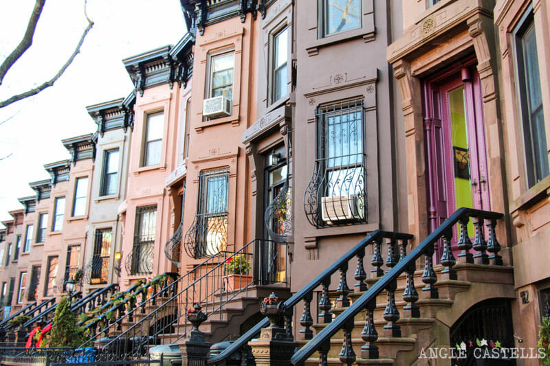 Barrios de Brooklyn - Brownstones en Park Slope