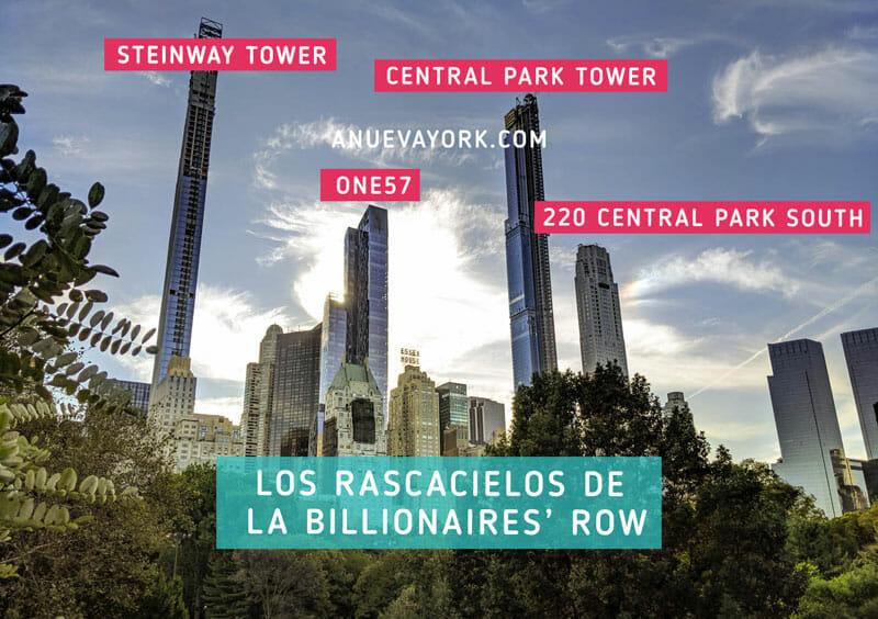 Los rascacielos de Nueva York en la Billionaires Row 1