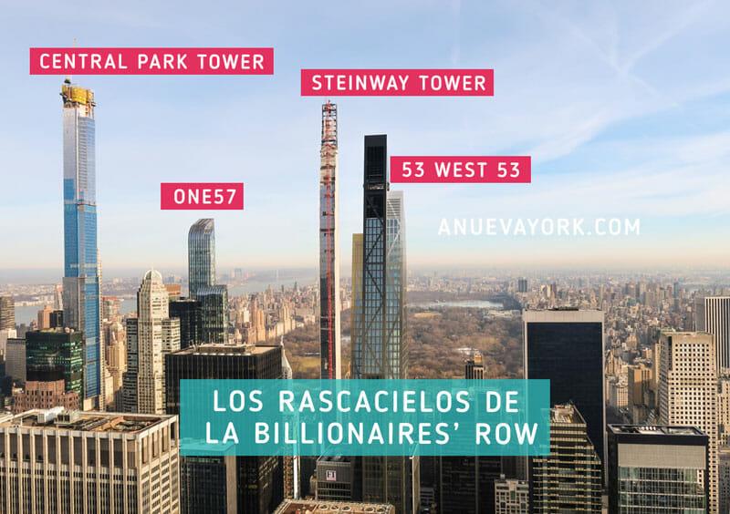 Los rascacielos de Nueva York en la Billionaires Row 2