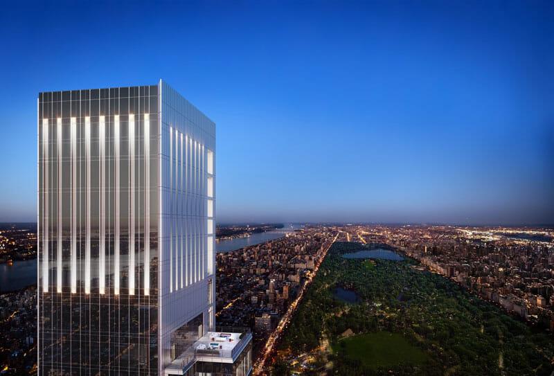 Rascacielos de Nueva York - Central Park Tower