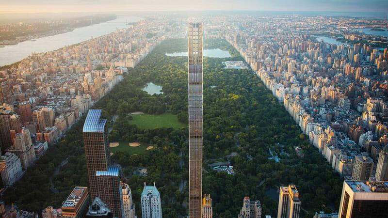 La Steinway Tower, uno de los nuevos rascacielos de Nueva York