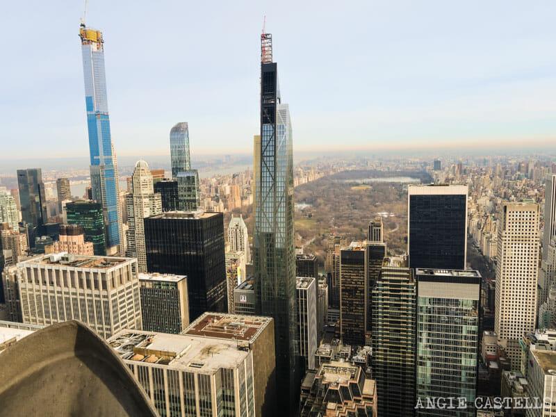 Rascacielos de la Billionaires Row en Nueva York - Central Park Tower y 53W53