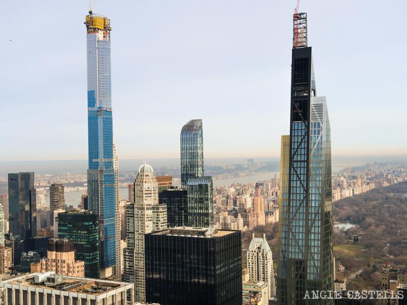 Los rascacielos de la Billionaires Row en Nueva York, junto a Central Park